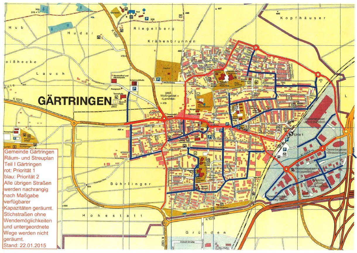 Streuplan Gärtringen (2015)